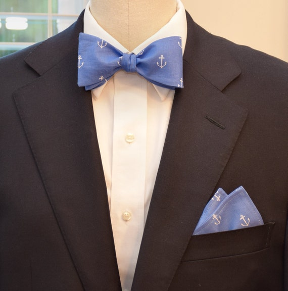 Pocket Square And Bow Tie