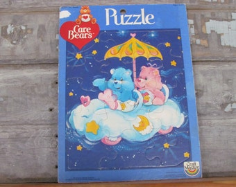 Vintage 1983 Craft Master Care Bears Puzzle