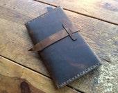 Fairfax travel wallet, handmade leather wallet, passport case, ticket holder, travel organizer, leather passport holder with six pockets