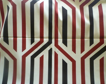 """Pillow Cover Red Black White Designer Cushion Cover Scatter Throw Decorative Pillow. ONE x 16"""" (40cm)"""