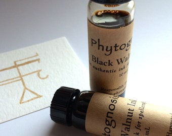 Black Walnut Ink - Useful for creating sigils and spells, for Witchcraft and