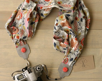 scarf camera strap be bold - BCSCS001