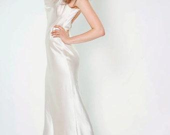 Silk charmeuse dress   Etsy
