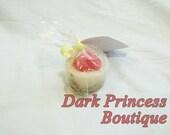 Strawberry Cheesecake mini soaps