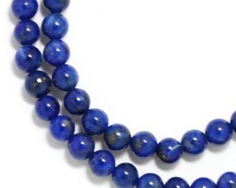 Lapis Lazuli Beads - 4mm Round