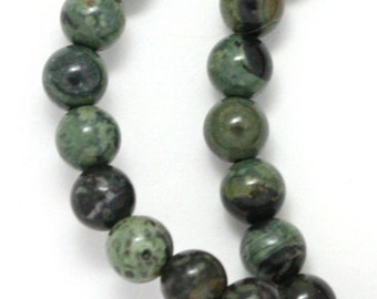 Kambaba Jasper Beads - 6mm Round