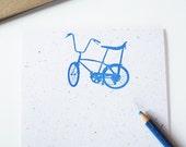 Bicycle Stationery Set retro schwinn bike stationary letter writing paper eco-friendly