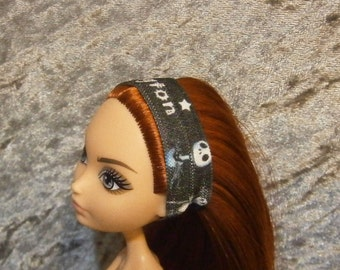 Jack Skellington headband for Monster and Ever after dolls