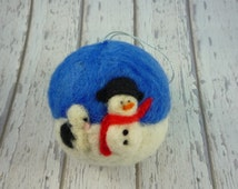 old english sheepdog, collectable, snow scene, snowman, sheepdog puppy, OES puppy, asset crafts, eco friendly, old english sheepdog gift,