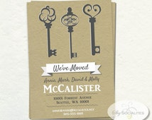 moving home cards template - popular items for new address card on etsy