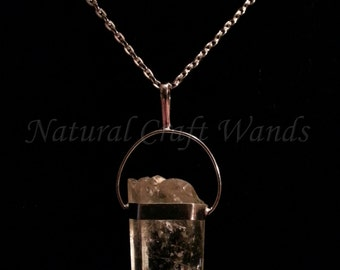 SALE Quartz Crystal Necklace SALE