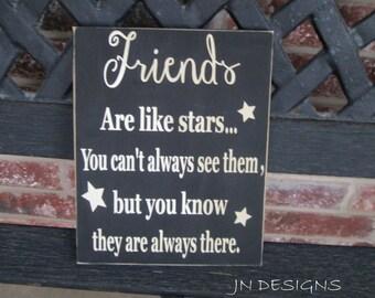 Home decor sign- Friends board