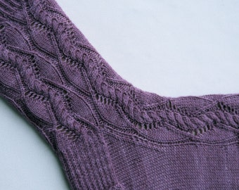 Knit Sock Pattern:  Plato's Favorite Socks Knitting Pattern