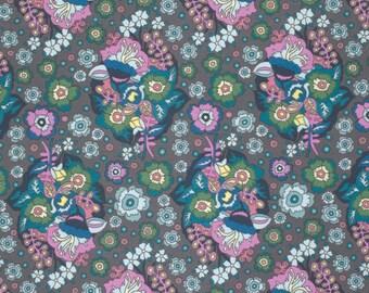 Baby Bouquet in Dusk  PWAH092 - FOLK SONG by Anna Maria Horner - Free Spirit Fabric  - 1 Yard
