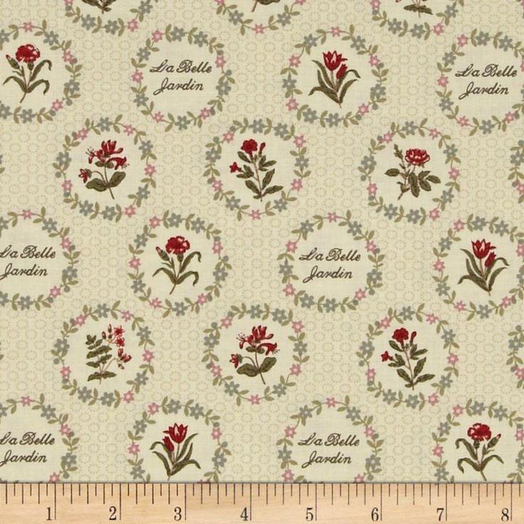 La belle fleur in pearl 13631 16 by french general for moda for La belle fleur