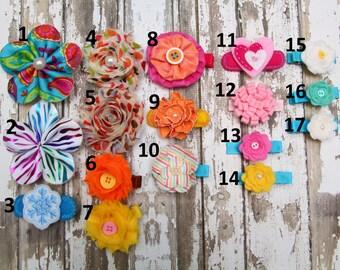 Flower Hair Clip, hair clips, hair bow, hair pin, baby hair clip, toddler hair clip, little girls hair clip, adult hair clip