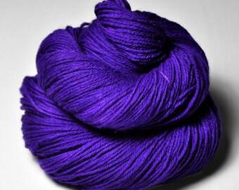 Toxic blue iris - Merino Sport Yarn Machine Washable