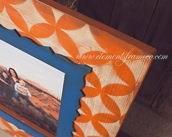 16x20 Handmade, Distressed, Wood Frame