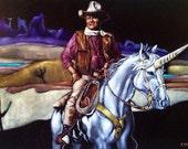 fantastical velvet paintings
