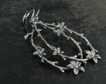 Woodland Earrings | Rustic Earrings | Nature Inspired Twig Earrings | Botanical Jewelry | Organic Earrings | Branch Earrings