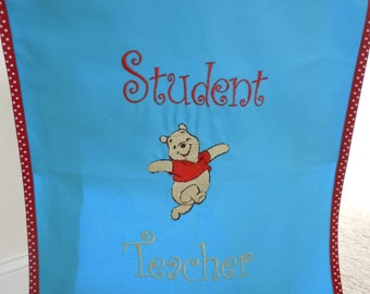 Student Teacher Chair Cover with Winnie!