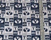Brigham Young University Fabric BTY
