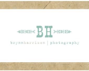 SALE PreDesigned PreMade Custom BRYNN Logo Design