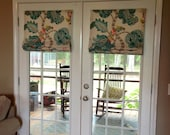Custom Roman Shades with your fabric