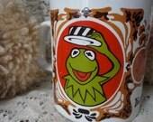 Vintage KERMIT! Muppet Show Mug