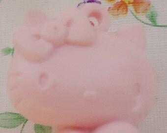 1976 Hello Kitty Pendant.Vintage Sanrio.Unique Piece