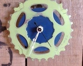 SALE --  BIKE GEAR - wall clock #36 / 50% Off
