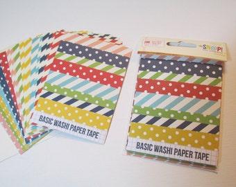 Sale  Snap Paper Basic Washi Tape