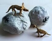 FOSSIL BATH ROCK - Skeleton Toy Inside - Bath Bomb Party Favor Surprise Dinosaur Bones Gift Idea - 5 oz Bath Fizz - Game Science Dino Animal