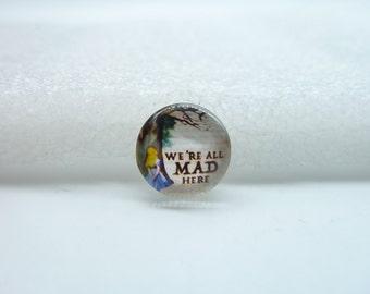 10pcs 12mm Handmade Photo Glass Cabochons (Alice)   GB34-21