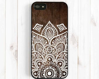 Ethnic Pattern iPhone Case, Printed Image False Wood Samsung Galaxy S3 S4 S5 Case, Samsung Note 3, iPhone 7 5C, iPhone 5S, iPhone 4S NP26