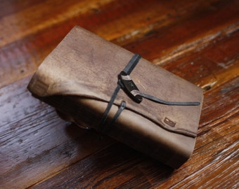 Hand Bound Leather Journal