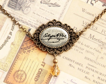 Edgar Allan Poe - Signature Necklace