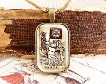 Death - Tarot Necklace