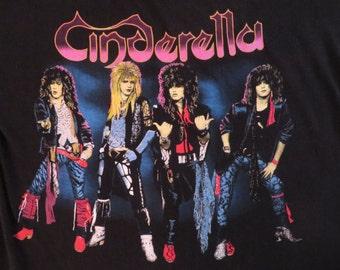 CINDERELLA 1987 tour TSHIRT