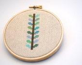 ORLA INSPIRED STEM Modern Cross Stitch Pattern