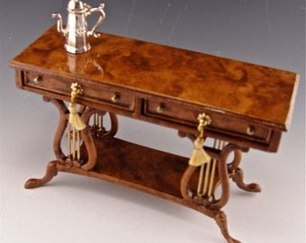 Dollhouse Lyre Desk, The Matthew