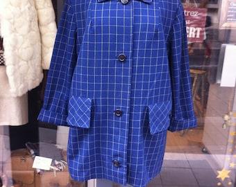 1950 Blue Swing Coat