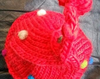 kid knit hat, beanie