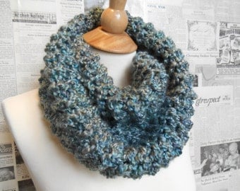 Spectacular Blue/Silver Cowl