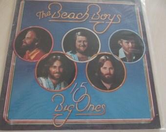 BEACH BOYS Long playing Vinyl Record - 15 Big Ones - NM Condition