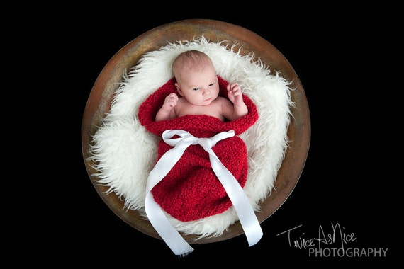 Newborn Baby Cocoon - You Choose Color