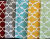 Quatrefoil Kitchen  or Hand Towels in Various Colors