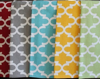 Quatrefoil Kitchen  or Hand Towels in Various Colors | Housewarming Gift | Hostess Gift | Gifts for Her | Wedding