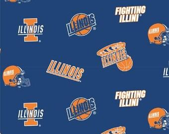 "Bouffant  Medical University of Illinois"" Fighting Illini"""