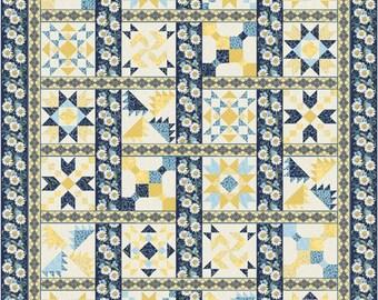 "Inside Passage Quilt Pattern 3-D Quilt Pattern Queen Size 84"" x 105"""